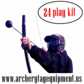 archery tag equipment
